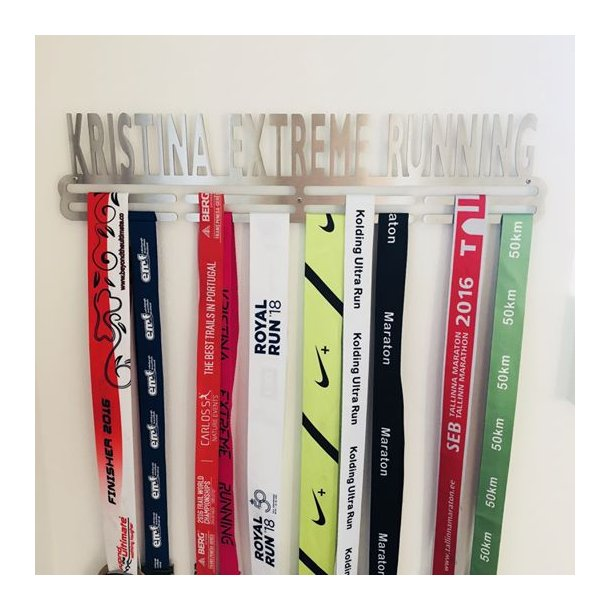 Medaljeholder - Kristina Extreme Running