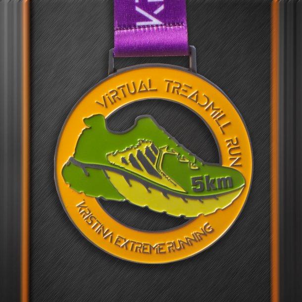 5 km Virtual Treadmill Run