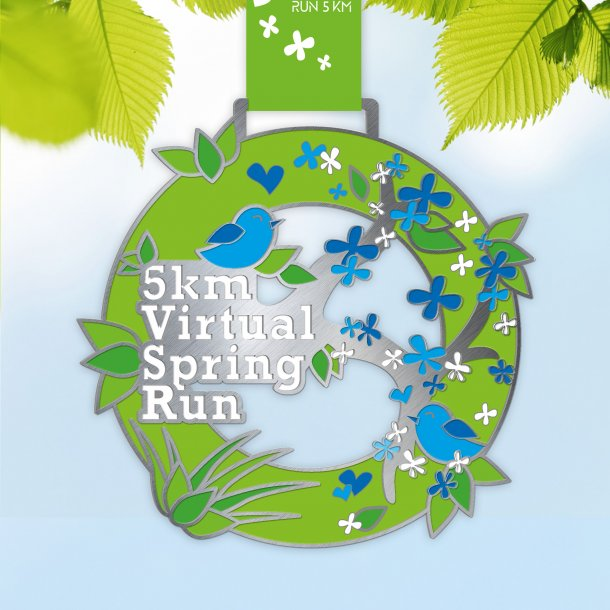 5 km Virtual Spring Run