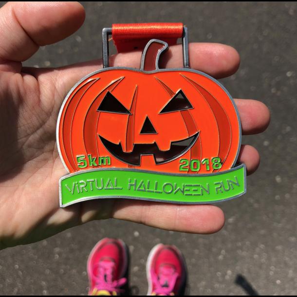 5 km Virtual Halloween Run (2018)